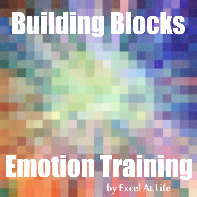 Building Blocks Emotion Train by Excel At Life