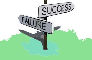 success failure signpost