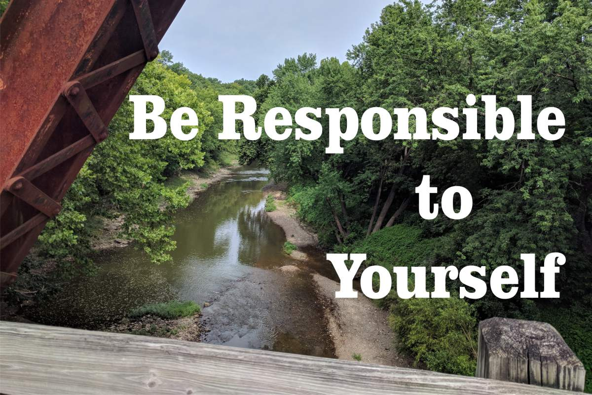 Rule 20: Be Responsible to Yourself