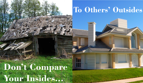 Rule 15: Don't Compare Your Insides to Others' Outsides