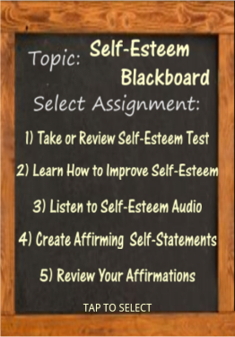 Self-Esteem Blackboard app