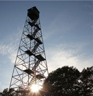 fire observation tower
